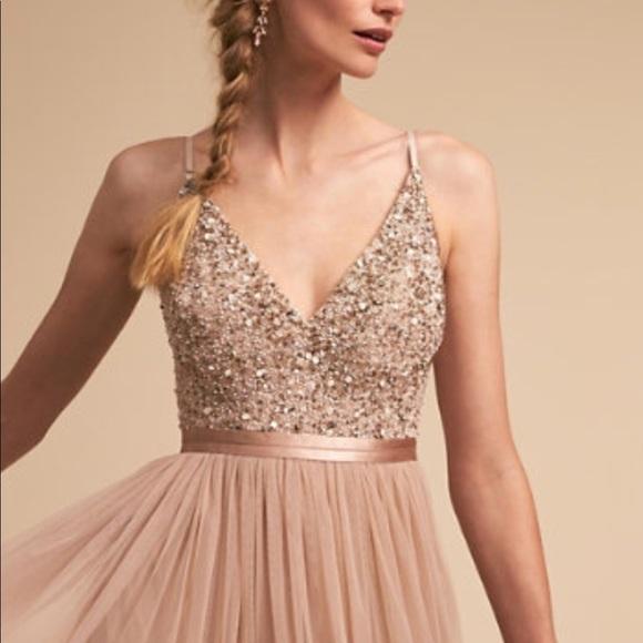 6b6b28fc30b BHLDN Dresses   Skirts - BHLDN Anthropologie Avery dress in blush size 4